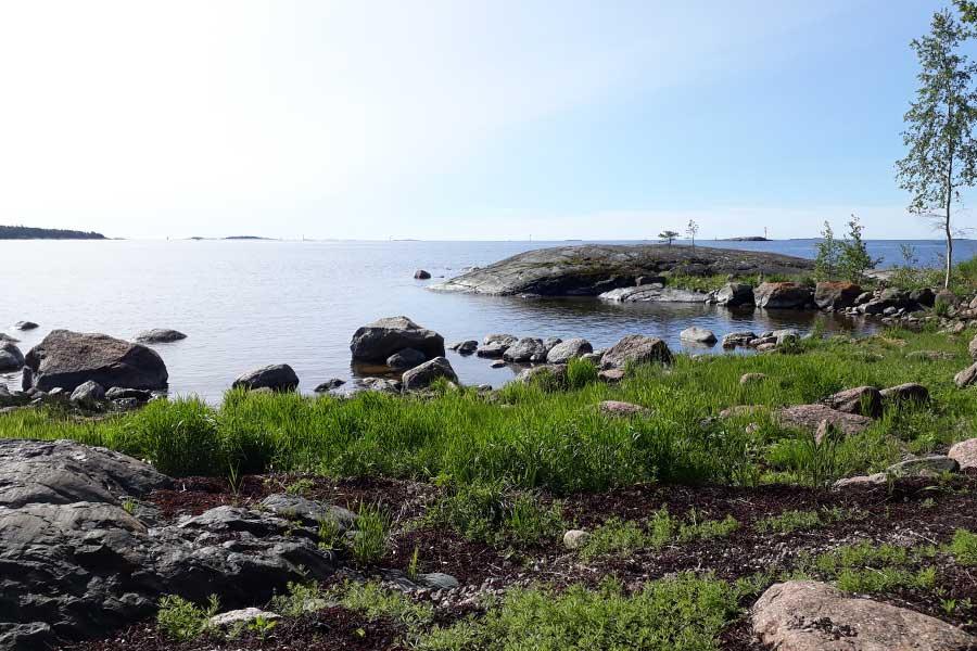 Dalenin merinäkymä