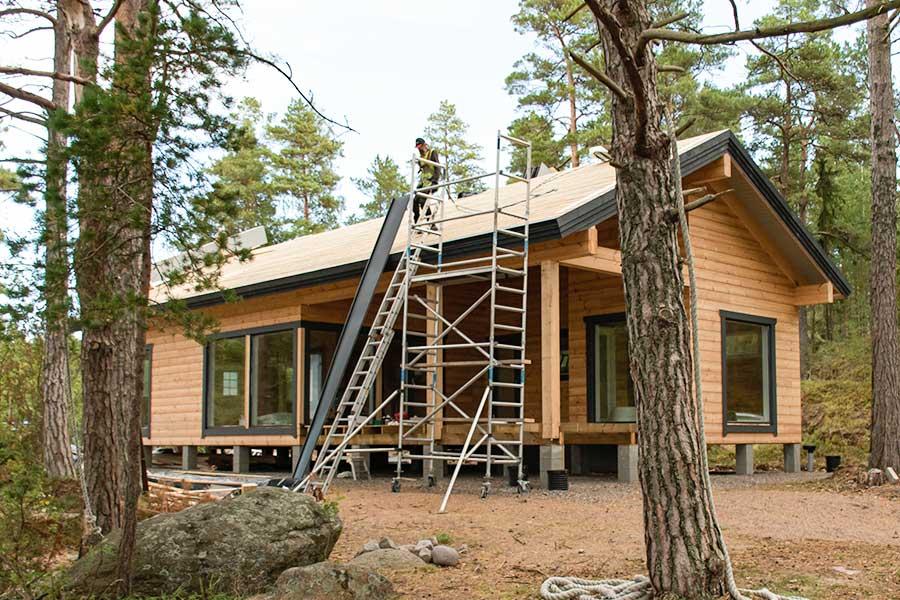 Villa Laxvarpet hyresstuga och villa